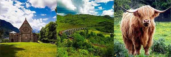 Scotland travel pictures.